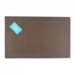 Protectie masa dreptunghiulara maro din nailon si plastic 30x45 cm Layer Aerts
