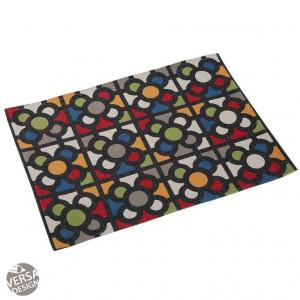 Protectie masa dreptunghiulara multicolora din poliester 36x48 cm Urbana Placemat Versa Home