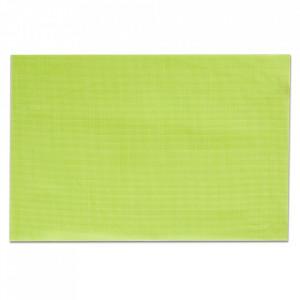 Protectie masa dreptunghiulara verde din PVC 30x45 cm Bia Zeller