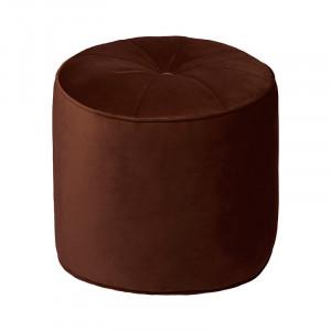 Puf rotund maro mahon din catifea 50 cm Marocco Cozy Living Copenhagen