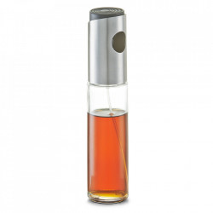 Pulverizator transparent/argintiu din sticla si inox pentru otet si ulei 100 ml Sprayer Zeller