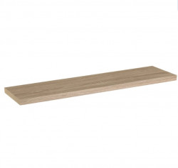 Raft maro din MDF 120 cm Oak XL Shelf Unimasa