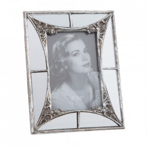 Rama foto argintie din polirasina 17x22 cm Mivona Ixia