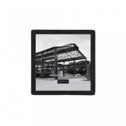 Rama foto neagra din metal si sticla 10x10 cm Nora LifeStyle Home Collection