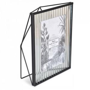 Rama foto neagra din metal si sticla 20x25 cm Factory Opjet Paris