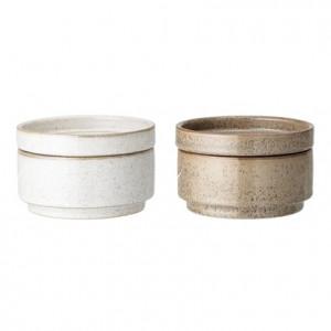 Recipient din ceramica 12x7,5 cm Maddison Bloomingville