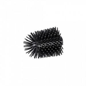 Rezerva perie neagra din silicon pentru toaleta Ben Wenko