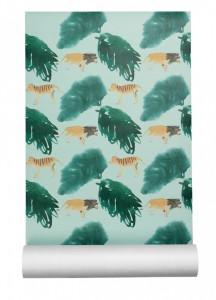 Rola tapet pentru copii 50x1000 cm Safari Nofred
