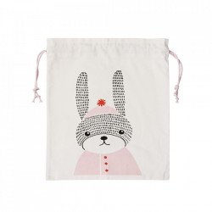 Sac multicolor din bumbac pentru depozitare Rabbit Bloomingville
