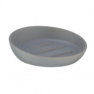 Savoniera gri din ceramica 3x11,5 cm Badi Wenko