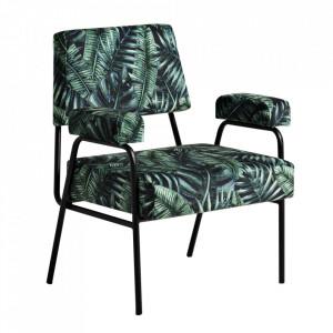 Scaun lounge multicolor din poliester si metal Tropical Custom Form