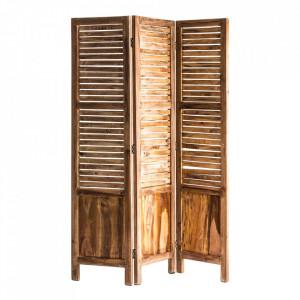 Separator camera maro din lemn 172 cm Dellach Vical Home