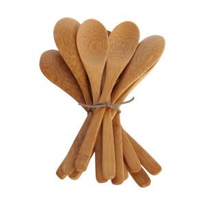 Set 12 linguri maro din lemn de bambus Nature House Doctor