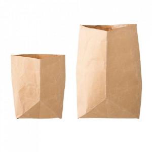 Set 2 sacose din hartie Oropa Bloomingville
