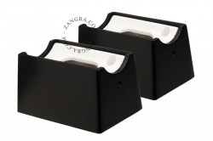 Set 2 suporturi pentru banda LED Zandra Black Zangra