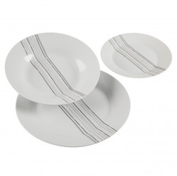 Set de masa 18 piese din portelan Nima Dishes Versa Home