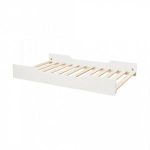 Somera cu margini laterale din lemn si MDF 90x160 cm Harlequin Light Sand Cam Cam