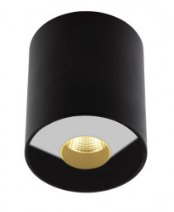 Spot LED negru din metal si sticla Plasma Black Maxlight