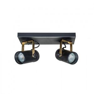 Spot negru cu 2 LED-uri Scope-2 Black Dutchbone