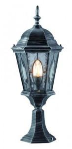 Stalp de iluminat metalic gri 24x62 cm Vera Markslojd
