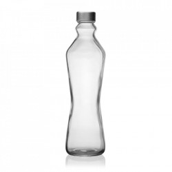 Sticla transparenta cu dop 1000 ml Tony Versa Home