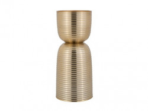 Suport auriu din aluminiu pentru lumanare 26 cm Jeral Richmond Interiors