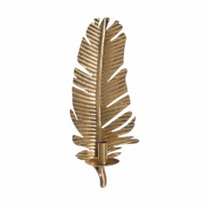 Suport lumanare auriu din zinc 45 cm Hamina Ixia