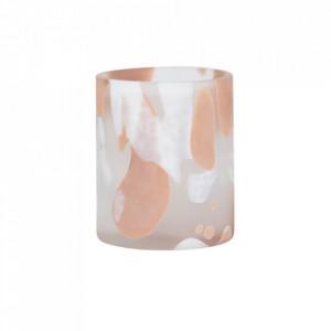 Suport lumanare multicolor din sticla 10 cm Claire Lifestyle Home Collection