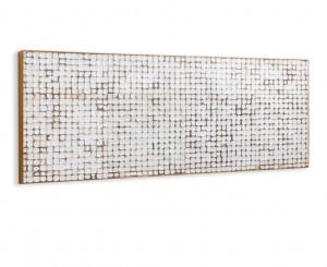 Tablie pat maro din lemn 174 cm Kron Kave Home