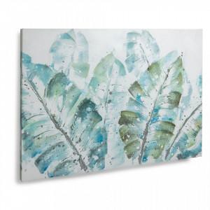 Tablou albastru printat pe panza 70x100 cm Danner La Forma