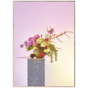 Tablou cu rama din lemn de stejar Bloom 07-Creme Paper Collective