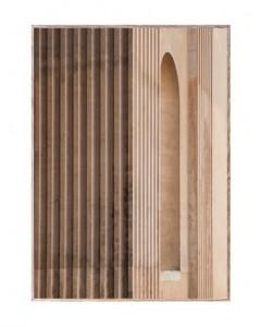 Tablou cu rama din lemn de stejar Neoclassic IV Paper Collective