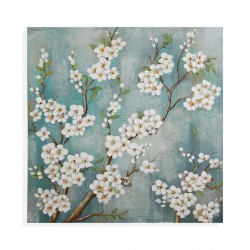 Tablou multicolor din canvas 80x80 cm Flowers Picture Versa Home