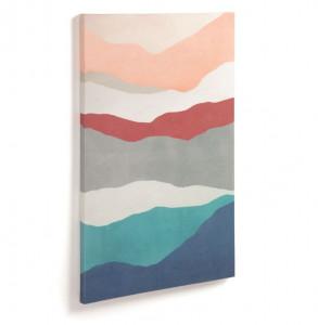 Tablou multicolor din lemn 50x70 cm Kynthia La Forma