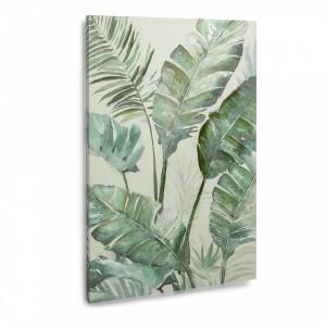 Tablou verde pe hartie pergament 90x60 cm Dandi Kave Home