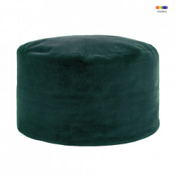 Taburet rotund verde din poliester 75 cm Lyall LifeStyle Home Collection