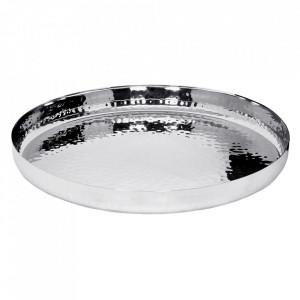 Tava argintie din inox 40 cm Reno Edzard