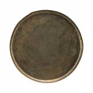 Tava rotunda aurie din aluminiu 80 cm Jhansi House Doctor