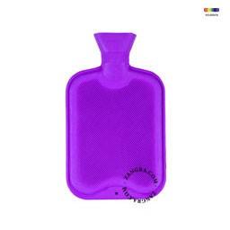Termofor mov din cauciuc 1 L Large Purple Briana Zangra