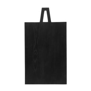 Tocator din lemn negru 45x25 cm Black L HK Living