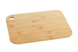 Tocator dreptunghiular maro din lemn 15x23 cm Mini Full Bamboo Wenko