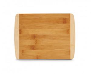 Tocator dreptunghiular maro din lemn 18x24 cm Two Colours Bamboo Medium Zeller