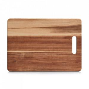 Tocator dreptunghiular maro din lemn 25x35 cm Karina Zeller