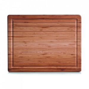Tocator dreptunghiular maro din lemn 30x38 cm Ellis Zeller