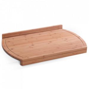 Tocator dreptunghiular maro din lemn 38x58 cm Bedouin Zeller