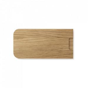 Tocator dreptunghiular maro din lemn de stejar 15x30 cm Part Normann Copenhagen