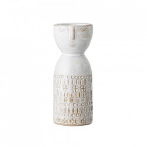 Vaza alba din ceramica 14 cm Eden Bloomingville