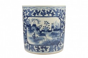 Vaza albastra din ceramica Delftware Style Versmissen