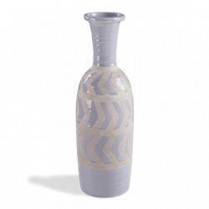 Vaza albastru deschis din ceramica 46 cm Arco La Forma
