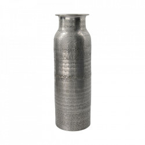 Vaza argintie din aluminiu 34 cm Fenja House Doctor